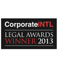 Corporate INTL Winner 2013