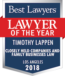 Best Lawyers - Lawyer of the Year 2018 - Timothy Lappen
